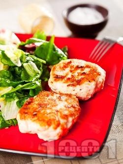 Пържени пилешки кюфтета - снимка на рецептата